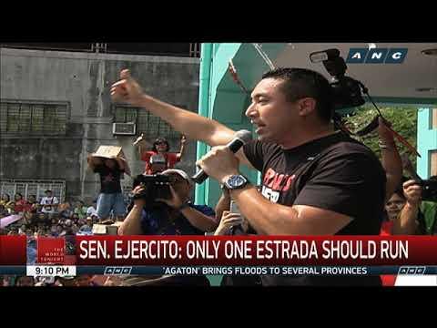 JV Ejercito, Jinggoy Estrada both eye Senate seats