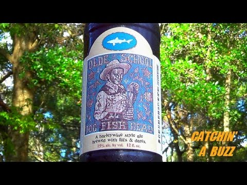 Dogfish Head Olde School Ale 15% ABV - Catchin' A Buzz #33