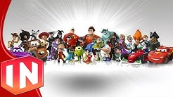Disney Infinity 1.0 - All Character Previews (Remembering Infinity)