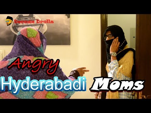 Angry hyderabadi moms || Deccan Drollz || hyderabadi comedy