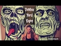 DIY ZOMBIE SIGNS - Halloween Outdoor Yard Prop Decoration -Walking Dead