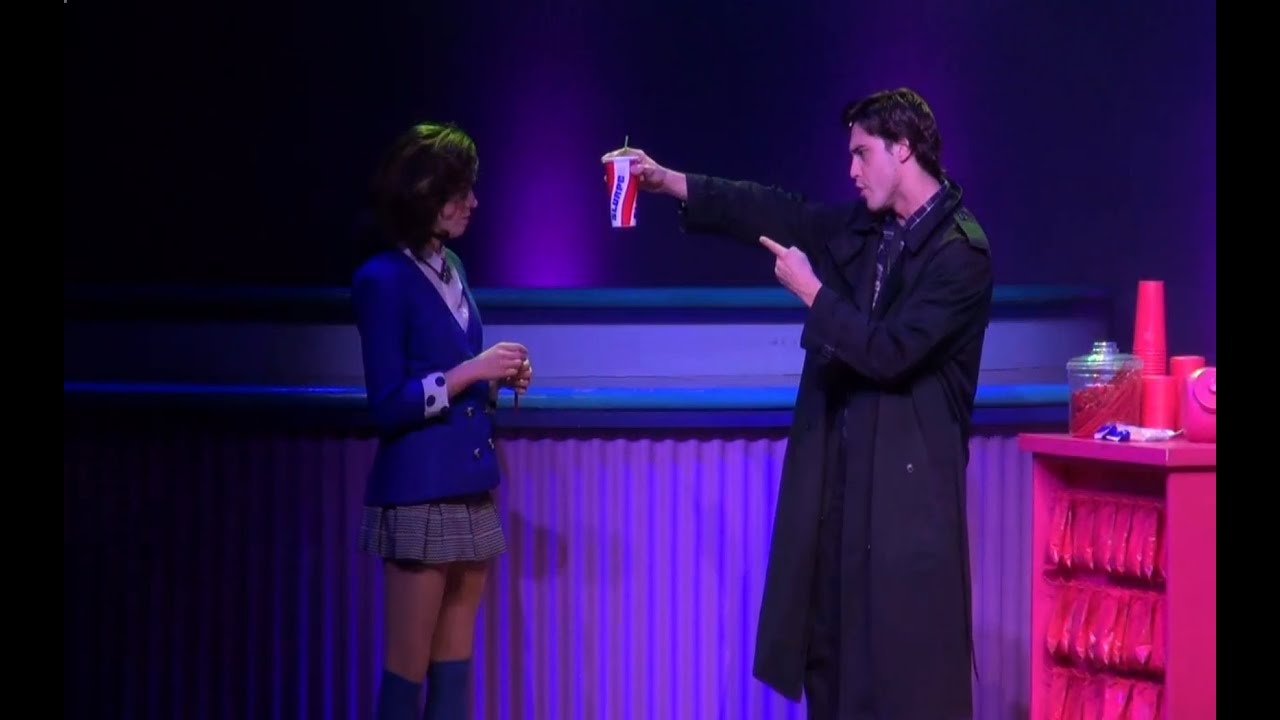 LIVE FOOTAGE from HEATHERS THE MUSICAL! - YouTube Heathers The Musical Jd