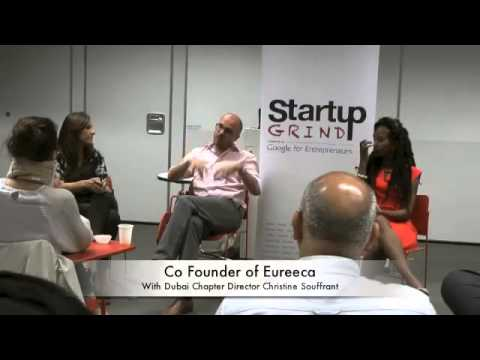 Christopher Thomas (Eureeca) at Startup Grind Dubai
