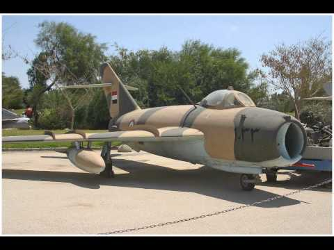 Israel Air Force Museum.  Part 1.  Airplanes.