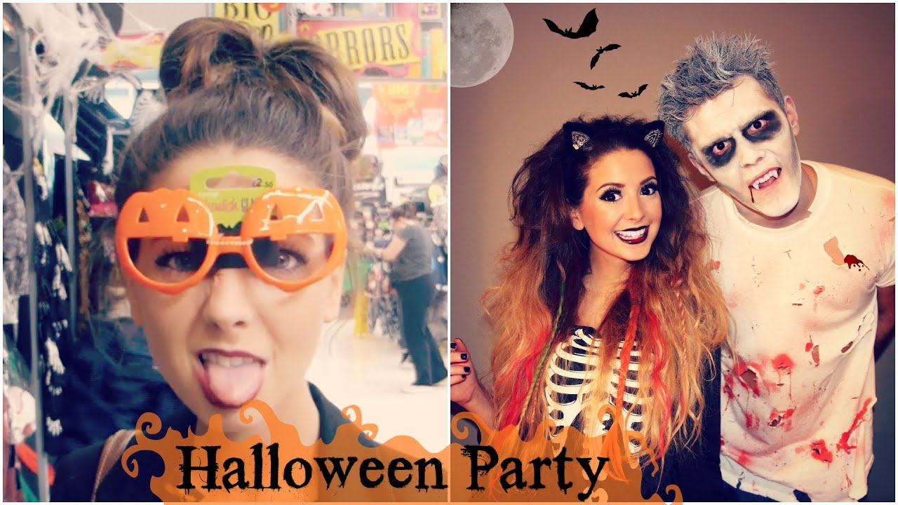 Halloween Party In London - YouTube