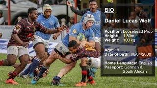 Daniel Wolf Rugby Profile - Grey High School