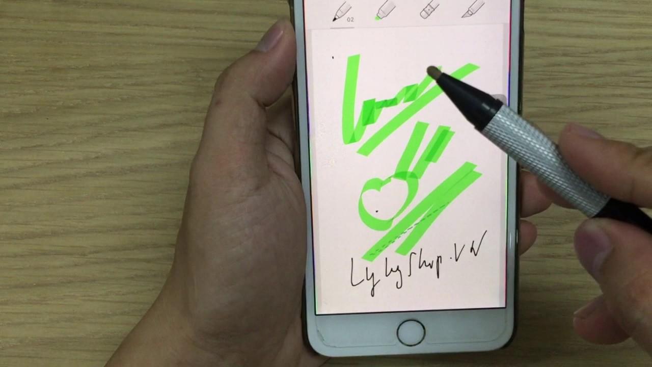 Bút cảm ứng Promax Stylus đầu nhỏ 1.9 mm cho Tablet Windows, Ipad,Iphone,Android