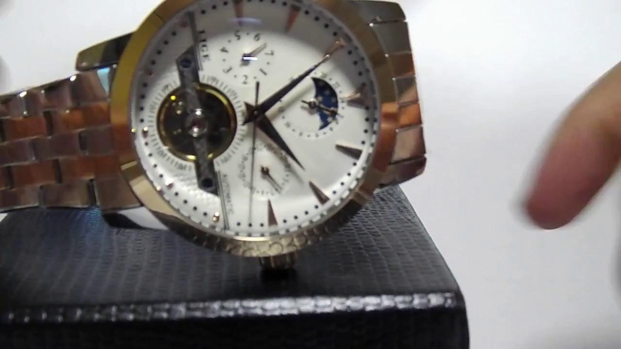 b789e651b6a Relógio Lige Automático - A Pronta Entrega - YouTube