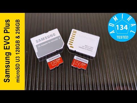 Samsung EVO Plus microSD U3 128GB & 256GB. Обзор карт памяти для 4k UltraHD