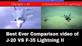 China J 20 vs US F 35 Fighting & Striking Capabilities, Detail specifications