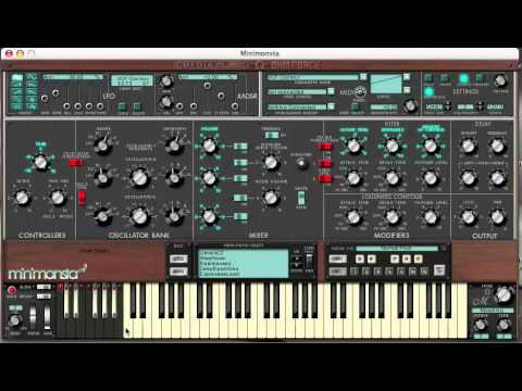 Moog VST | Minimoog | Moog Audio | Online Synthesizer