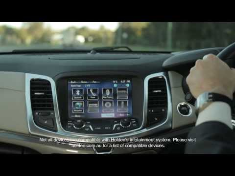 Holden MyLink with Enhanced Voice Control