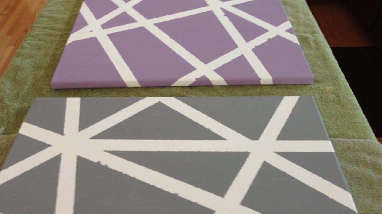 Crea dei quadri semplici e divertenti fai da te casa for Quadri semplici