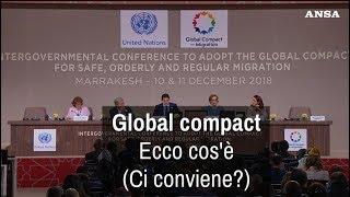 Global compact, ecco cos'è  (Ci conviene?)
