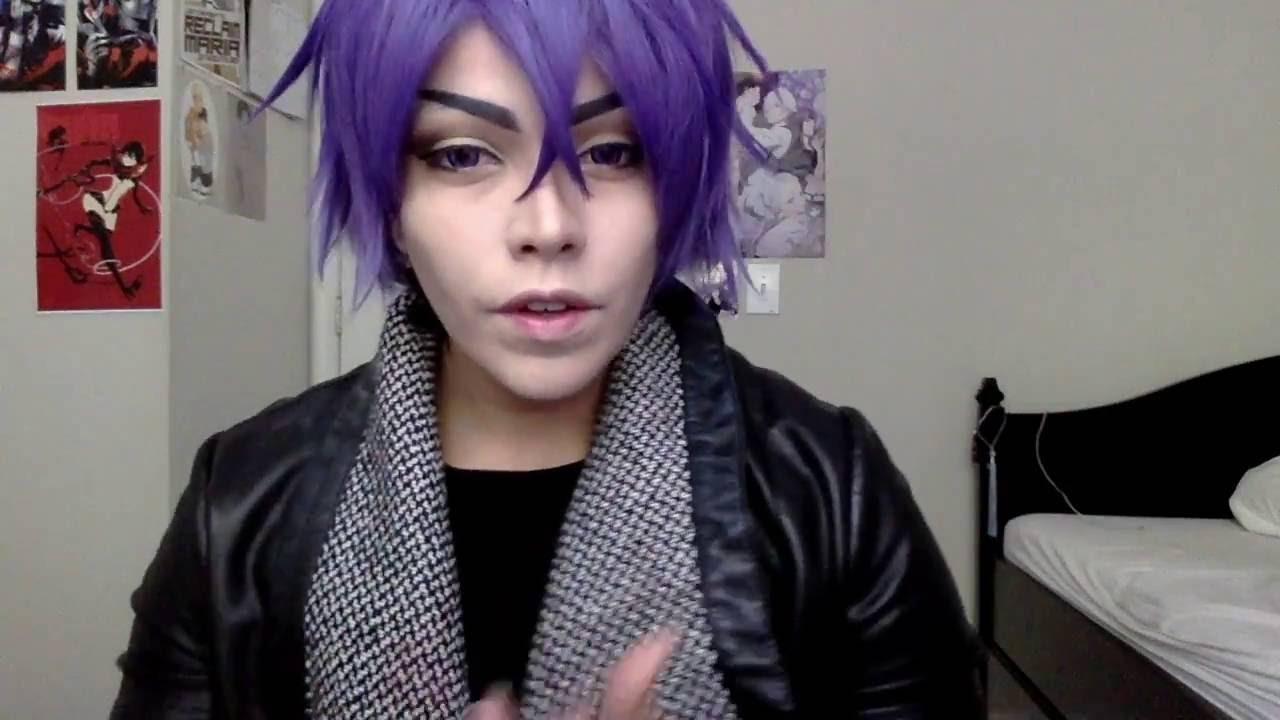 Tokyo Ghoul Ayato Kirishima Cosplay Makeup Tutorial 東京喰種