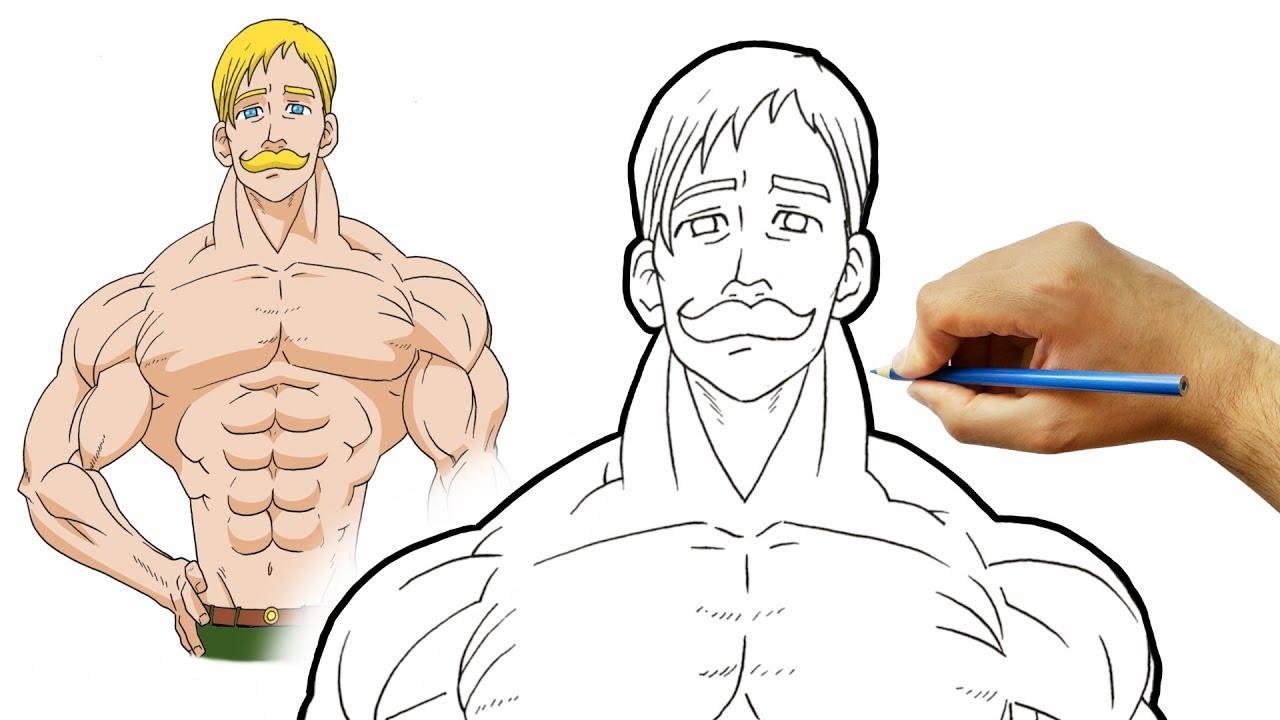 رسم اسكانور من انمي الخطايا السبع المميتة بالخطوات مع الشرح Youtube