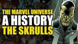 The History Of The Marvel Universe: Origin of the Skrulls