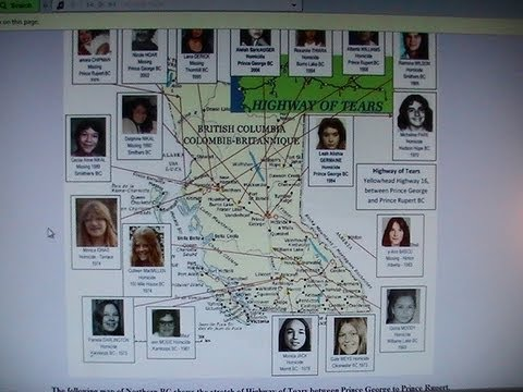 The Highway of Tears prophecised by Nostradamus as part of a terrorism complex. Pt. 1