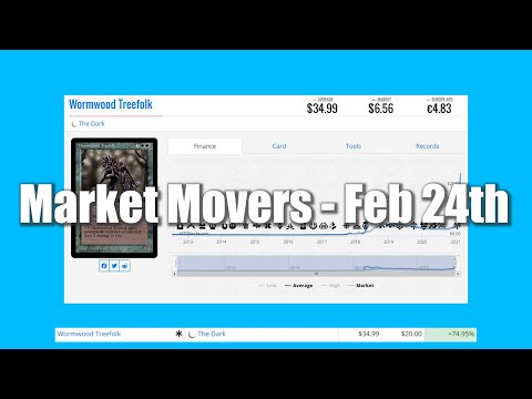 Magic The Gathering Market Movers - February 24th - Reserved List Buyouts Continue with a Vengeance!