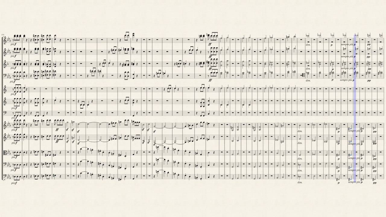 Beethoven, Symphony No 5 in C minor, Op 67  [Sheet Music]