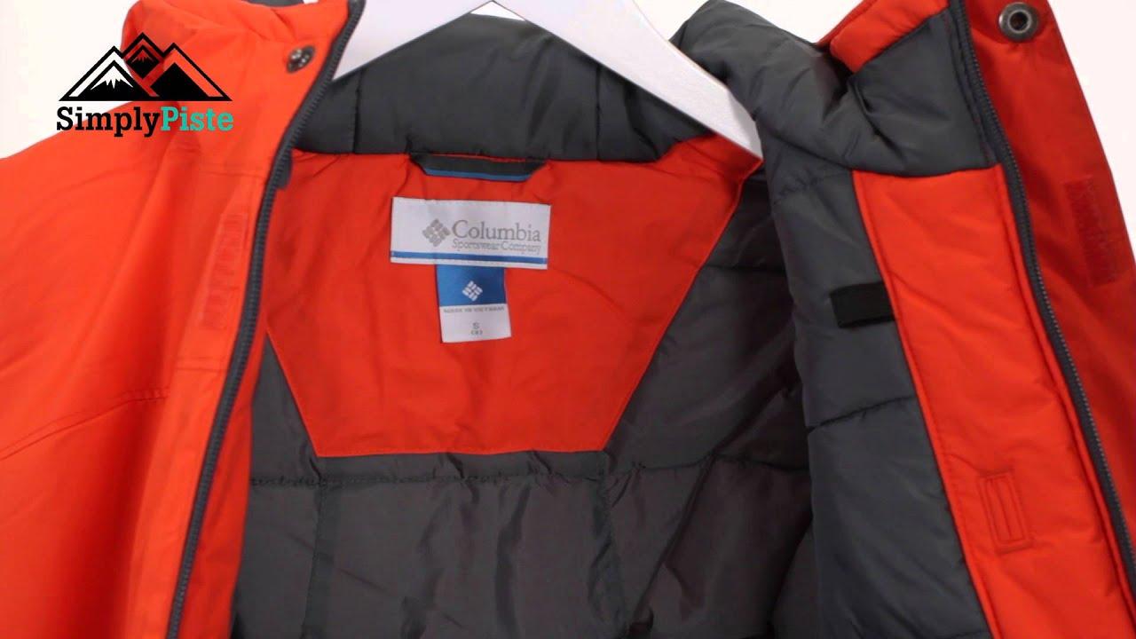 94dfd64f5 COLUMBIA Boys Alpine Free Fall Jacket Tangy Orange - www.simplypiste.com