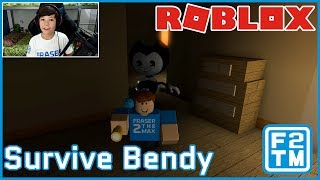 TURBO SCARY ROBLOX JEU!!! Survivre Bendy sur Roblox