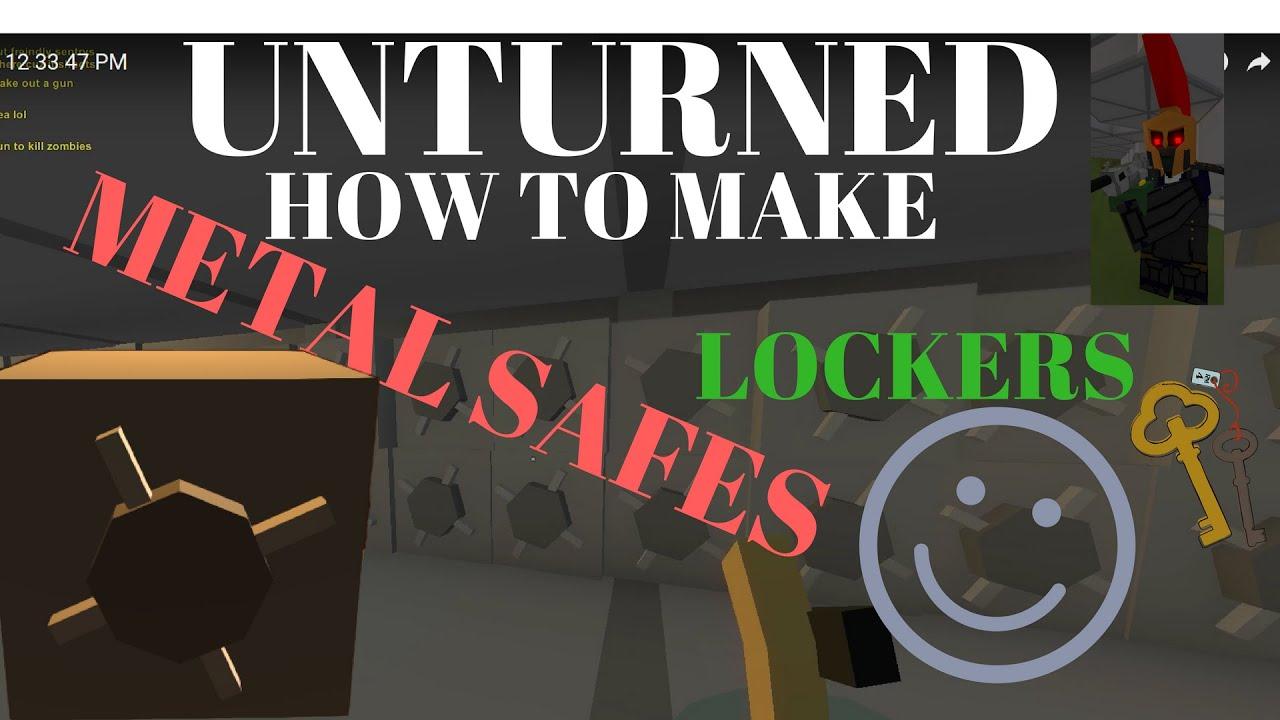 id for locker in unturned