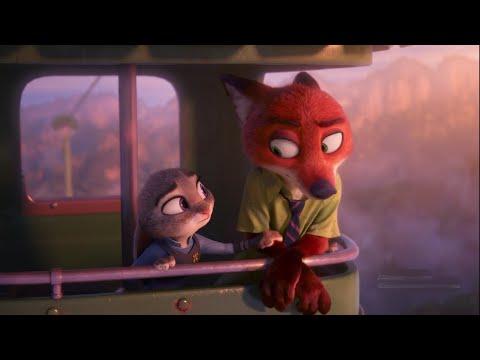 Zootopia - Judy Hopps & Nick Wilde Best Funny Moments - Disney Animated Cartoon Movies for Kids