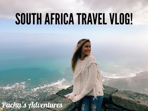 Pacha's Adventures: SOUTH AFRICA Travel Vlog