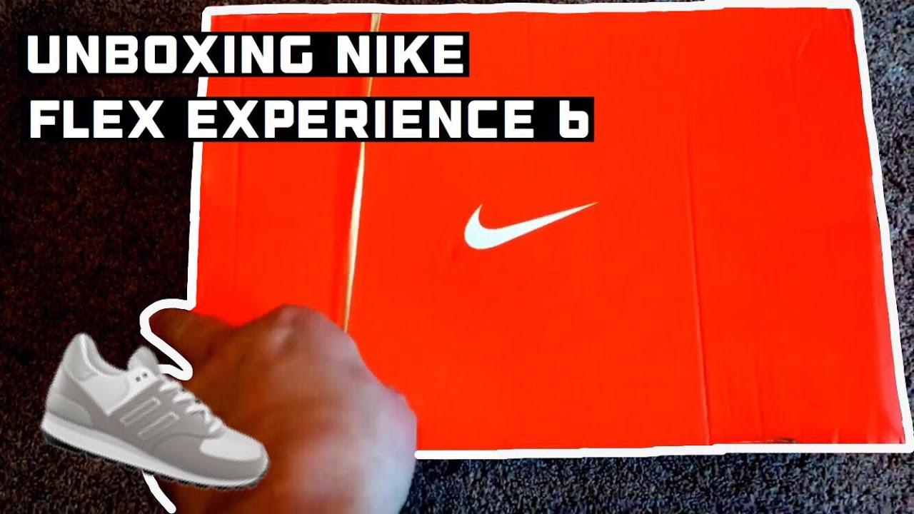 ef42ac1ebba24 Unboxing Nike black flex experience 6 - YouTube