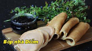 Bánh rán chảo - Norwegian Pancakes - Cách làm mứt việt quất và bánh rán truyền thống của người Nauy