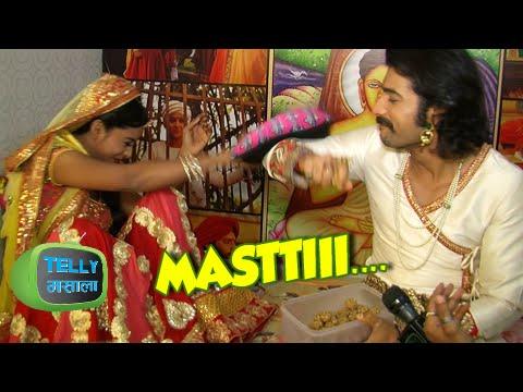 Fun Chat Of Rachana Parulkar & Sharad Malhotra | Behind The Scenes | Maharana Pratap