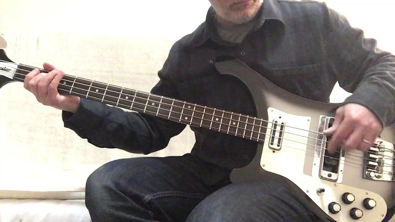 Refinish Bass Guitar