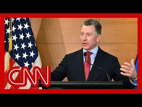Special envoy to Ukraine Kurt Volkert resigns, sources say