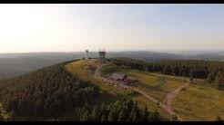 Thüringer Wald 4K Luftaufnahmen vom Schneekopf 2015