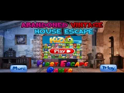 Abandoned vintage house escape first escape games doovi for Minimalistic house escape 5 walkthrough