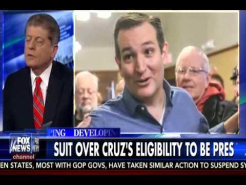 Fox News: Judge Napolitano Lies About Article II Natural Born Citizen