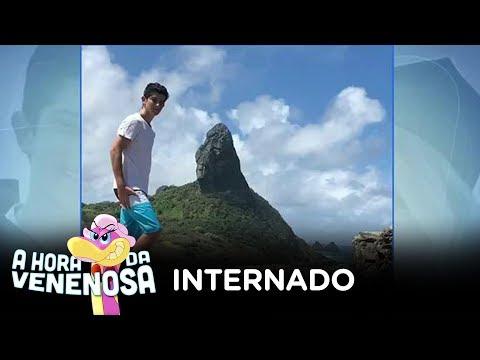 Filho de Carlos Alberto de Nóbrega é internado na UTI