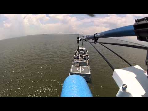 RC Heli Approach to Navy YP
