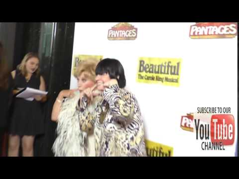 Ruta Lee and Jo Anne Worley at the Premiere Of Beautiful   The Carole King Musical at Pantages Theat