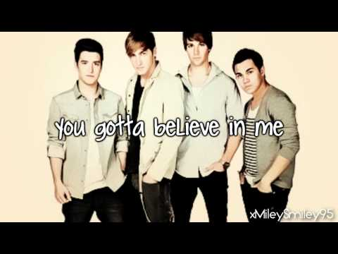 Big Time Rush - You're Not Alone (with lyrics)