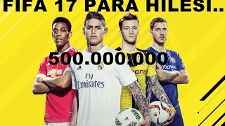 FIFA 17.PARA HİLESİ...5 dk da 500.000.000 AVRO.