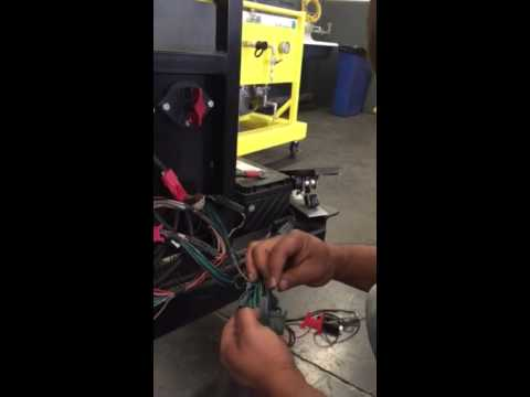 Trouble shooting a shift selector on a Allison transmission - YouTube