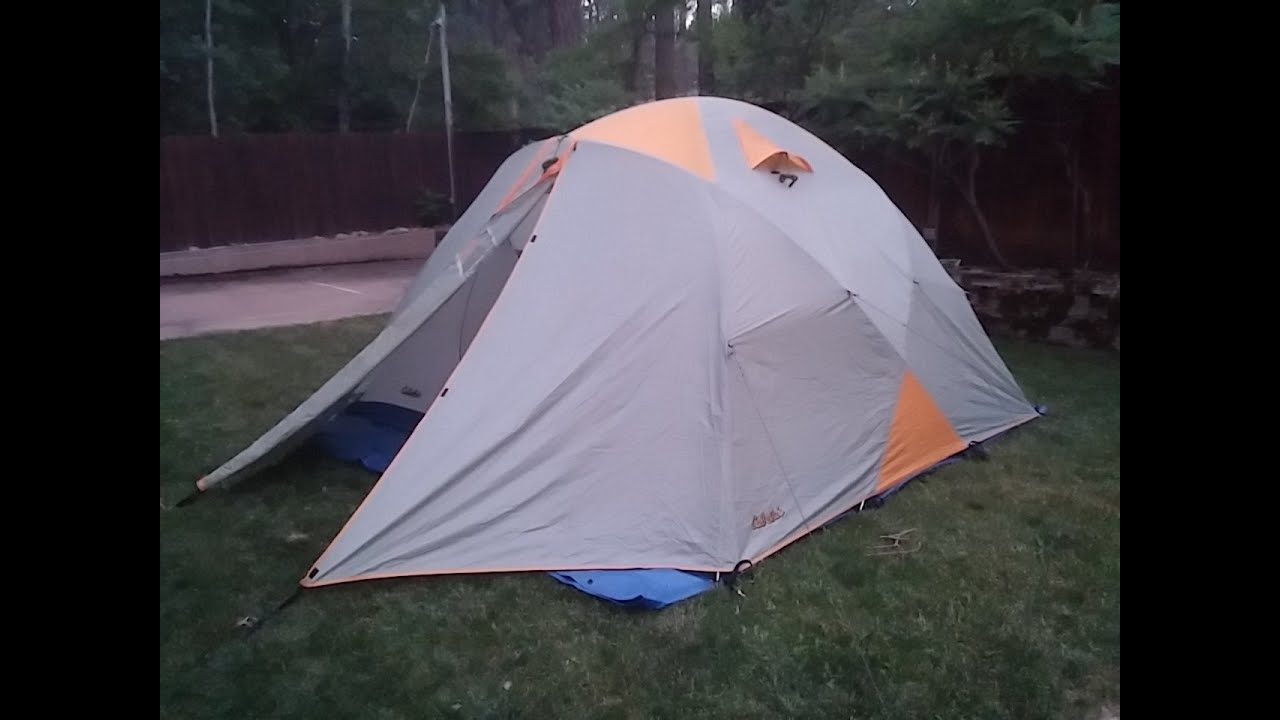 & Cabelau0027s XPG Expedition 4 Season tent set-up - YouTube