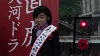 あの天才子役・寺田心くんが、大河ドラマ館の一日館長に就任しました!
