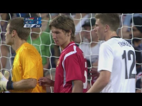 Belarus 10 New Zealand  Men's Football Group C  London 2012 Olympics