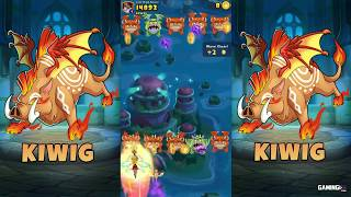 Everwing Sidekick Gameplay - New Rare Dragon Kiin, Kigi and Kiwig