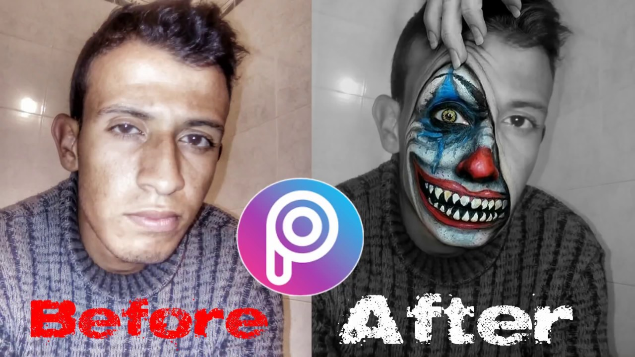 picsart edit joker face picsart manipulation youtube. Black Bedroom Furniture Sets. Home Design Ideas