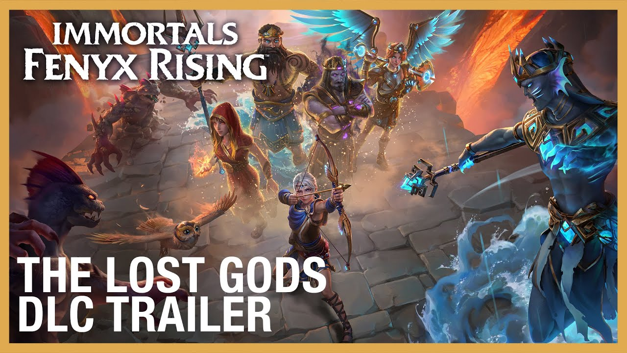 Immortals Fenyx Rising - The Lost Gods DLC Trailer | Ubisoft