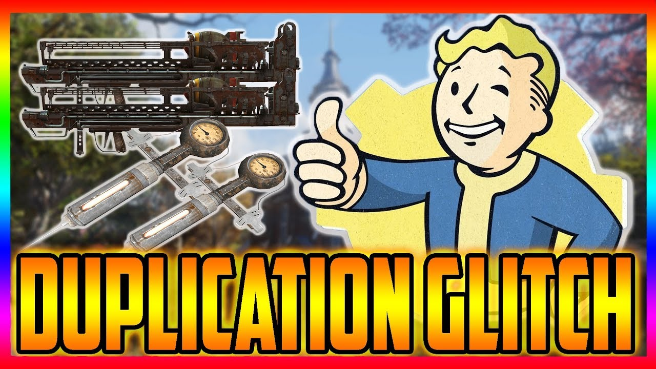 Fallout 76 New Duplication Glitch After 1 04 Update by EpicCRAZY WOLF
